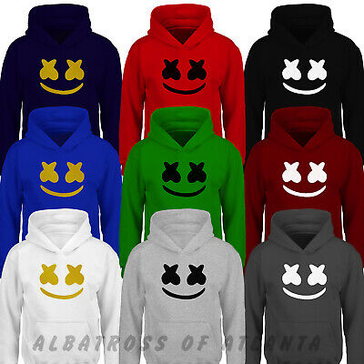Marshmello Kids Hoody DJ Music Skin Gaming Kids Boys Girls Adults Hoody
