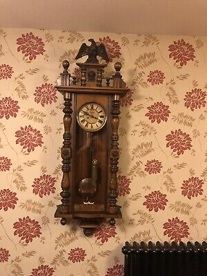 Twin Weighted Vienna Wall Clock