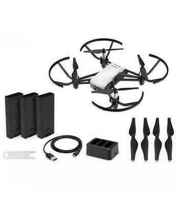 Powered By DJI Tello Boost Combo 3 Batteries/Charging Hub
