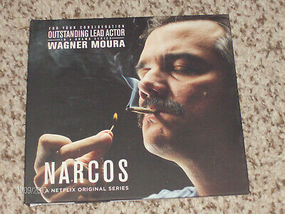 """NARCOS"" Netflix Series! 3 RARE episodes from Season 2! Emmy Preview DVD!!"