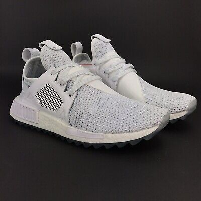 c681d298c3f0a Adidas Men s NMD XR1 Trail Titolo Celestial White White Shoes BY3055 Size 12