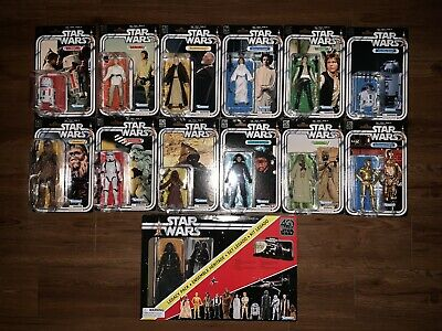 Star Wars the Black Series 40th Anniversary Complete Set MINT IN BOX