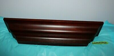 "Exposure Angled Wooden Composite Wall Shelf Ledge Display 24"" Long"