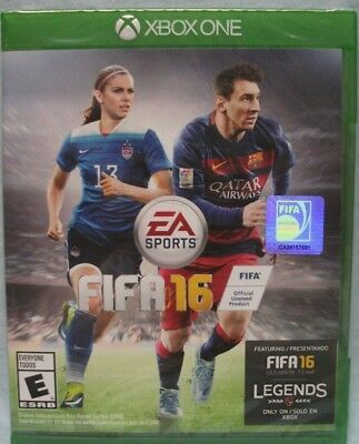 XBOX ONE FIFA 16 - Brand new Sealed - Soccer - First Game with Females