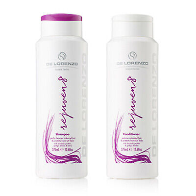 De Lorenzo Delorenzo Rejuven8 Shampoo & Conditioner 375ml DUO For Coloured Hair