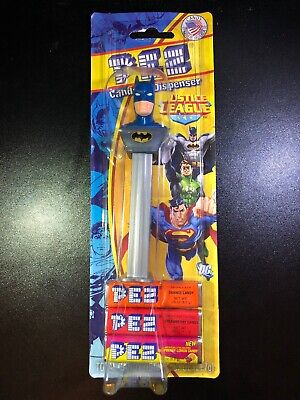 PEZ JUSTICE LEAGUE Pez Dispenser BATMAN DC Comics