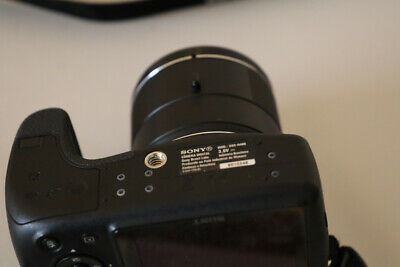 Sony Cyber-shot DSC-H400 20.1MP 63X Digital Camera **MISSING CHARGER**