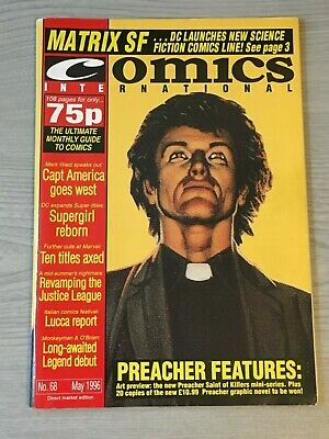 Comics International May 1996 No 68 Magazine Comic News Marvel DC Preacher