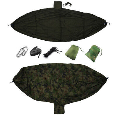 Double Person Travel Outdoor Camping Tent Hanging Hammock Bed & Mosquito Ne Z7X8
