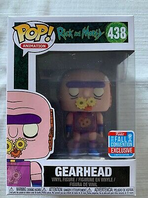 Funko Pop! Animation Rick and Morty #438 Gearhead 2018 NYCC Exclusive BRAND NEW