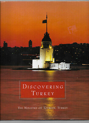 2002 DISCOVERING TURKEY Ministry Of Tourism BEAUTIFULLY PHOTOGRAPHED In Slipcase