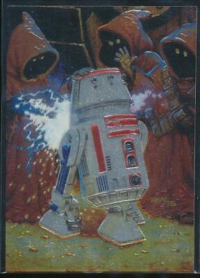 1996 Star Wars Finest Trading Card #85 R5-D4