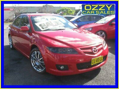 2005 Mazda 6 GG 05 Upgrade Luxury Sports Red Manual 6sp M Hatchback