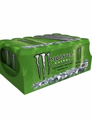 x24 Monster Energy Drink Ultra Paradise Green Can 🔋NEW LIMITED EDITION 16 OZ!!!