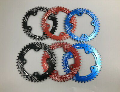 SNAIL Single MTB bike Chainring BMX Narrow Wide Round/Oval BCD104 Chain Rings