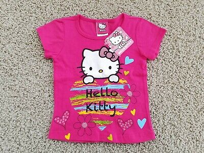 Size 2T NWT TODDLER GIRLS HELLO KITTY T-SHIRT