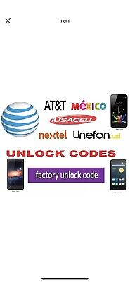 Movistar Mexico Unlock Code SERVICE Galaxy HTC ZTE ALL MODELS Samsung Zte LG