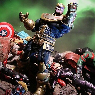 Marvel Select Infinity War Avengers Thanos 7'' Action Figure (Disney Store Excl)