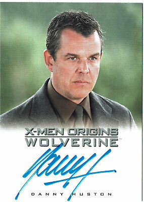 X-Men Origins Wolverine Autograph Card Danny Huston as William Stryker