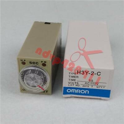 1PCS NEW IN BOX OMRON Timer H3Y-2-C 24VDC 60s