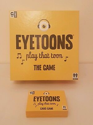 Eyetoons Play That Toon Board Game & Card Game, Ginger Fox Games