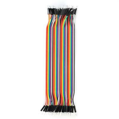 40pcs Durable Dupont 10CM Male To Male Jumper Wire Ribbon Cable for Breadboard