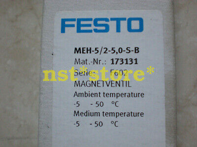 Applicable for NEW FESTO Solenoid Valve MEH-5/2-5,0-S-B