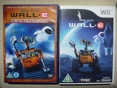 Wall-E (2-Disc Special Edition) [DVD] + wii Game 1st Class Post!