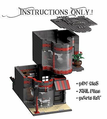 LEGO Custom Modular Photography Store INSTRUCTIONS ONLY!