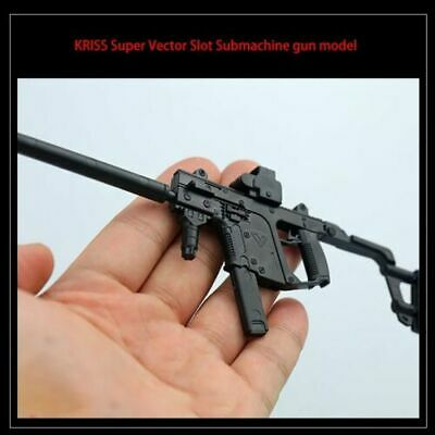 2PCS/Set 1/6 Scale KRISS Vector +MP5SD5 Submachine Guns Model 1:6 Plastic Assemb