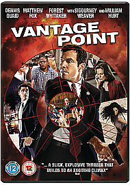 Vantage Point DVD Brand New & SEALED 1st Class Post!