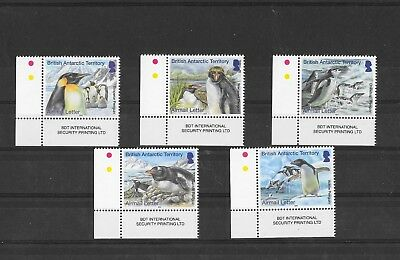 British Antarctic Territory 2014 Penguins Airmail Letter Rate   MNH