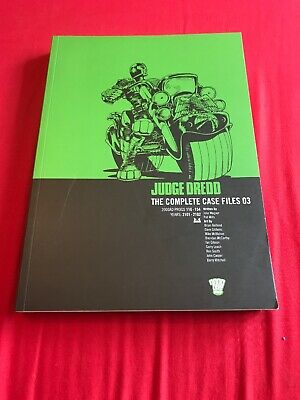 Judge Dredd The Complete Case Files 03 2000ad Graphic Novel Comic