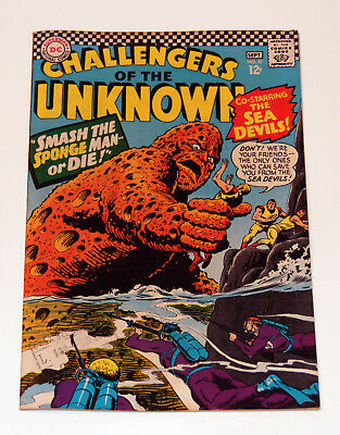 Challengers ot the Unknown #51 - 1966 DC Comic