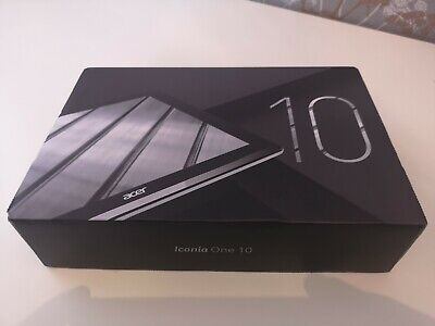 Acer Iconia One 10 B3-A50Fhd Model A8002 Mint Condition Fully Boxed