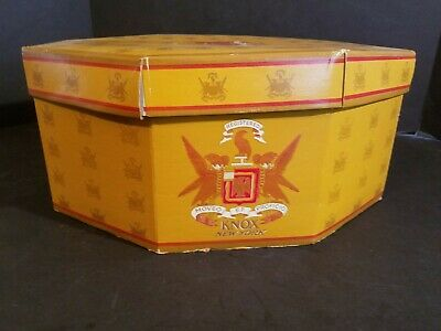 Vintage Knox Hat Company Of New York Hat Box
