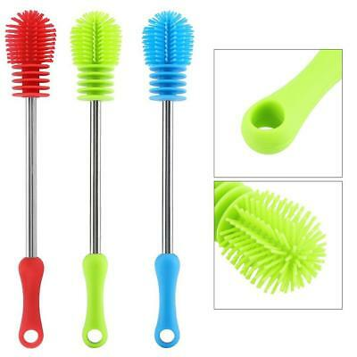 Silicone Bottle Brush Cup Cleaning Brush Scrubber for Washing Pot Pan Dish