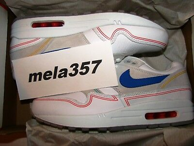 sports shoes f0b54 5b525 Nike Air Max 1 Centre Pompidou By Day 7.5 US 6.5 UK 40.5 EUR AV3735-