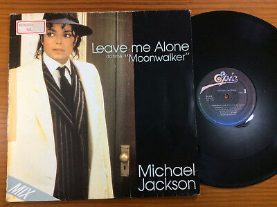 Michael Jackson Leave Me Alone Lp Single 1987 Brazil Moonwalker Excellent Condit
