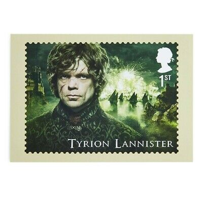 Postcard Game of Thrones Tyrion Lannister unused 2018