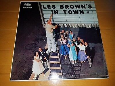 Les Brown And His Band Of Renown – Les Brown's In Town France 1982 Reissue LP