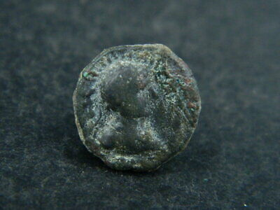 Ancient Bronze Coin Bactrian 100 Bc#br6351 Greek (450 Bc-100 Ad)