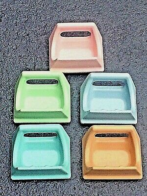 🎀 Large SOAP HOLDER Porcelain ANTIQUE VINTAGE Wall Recessed Bath Tub - 5 Colors