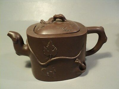 Ancienne Théière Chinoise Chine Chinese Yixing Teapot Ceramic Marks