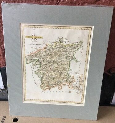"Original Map c1786 ""WORCESTERSHIRE "" J CARY "" New & Correct English Atlas."