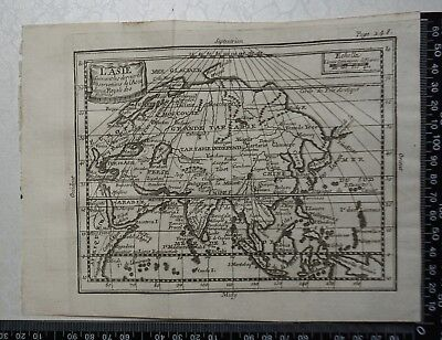 1758 - Asia Map, P Buffier , Geographie Universelle - Sculptured Faure