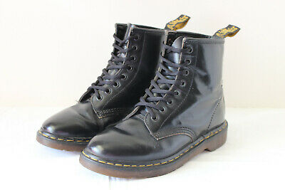 Doc Dr Martens Violet Rare England Purple Boots Made In Suede CBoexd