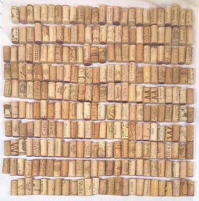 Natural USED Wine Corks Lot of 257 Recycled Upcycled Wedding Craft Favor