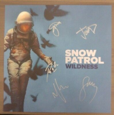 "Snow Patrol Wildness 12"" Lithograph - SOLD OUT LIMITED EDITION SIGNED ARTWORK"