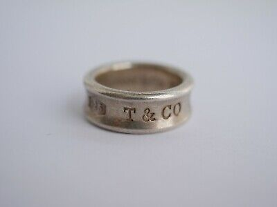 Metal Detecting Find ,,sterling Silver Tiffany Ring,,
